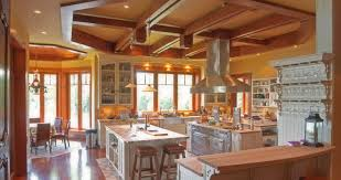 Kitchen Stairs Design Ceiling Wood Stairs Design Ideas With Iron Hand Railings Cable