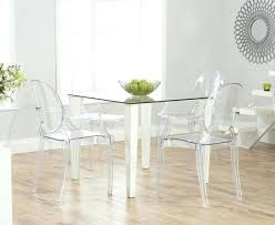 White Plastic Dining Table Dining Chairs En White Plastic Room Best Chair Ideas On Folia For