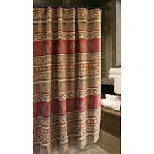 Cabin Shower Curtains And Moose Shower Curtain Wayfair