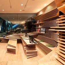 topographic interiors pair of stacked plywood storefronts urbanist