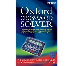 buy seiko er 3700 electronic oxford crossword solver at argos co