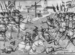 siege social swiss landsknecht german mercenary pikeman britannica com