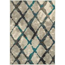 area rugs home decorators home decorators collection saratoga grey teal 9 ft 10 in x 12 ft