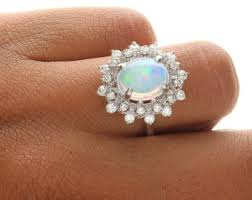 opal and diamond engagement rings deco opal engagement rings opal engagement rings