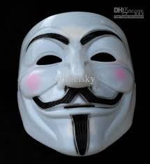 creepy mask v for vendetta party mask mask scary masks horror