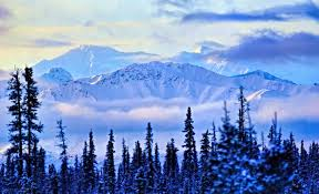 Alaska scenery images Times when snow transformed alaska into the most beautiful scenery jpg