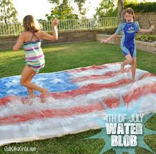 Kids Backyard Fun 4th Of July Party U2013 Water Blob For Kids Club Chica Circle