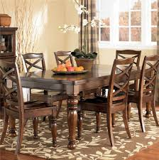 ashley dining room sets ashley furniture porter house d697 35 rectangular extension dining