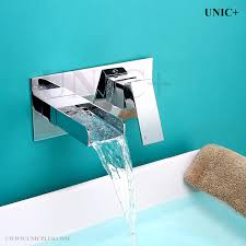 solid brass bathroom wall mount waterfall faucet bwf004 in vancouver