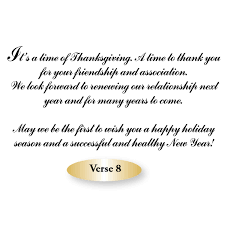 greeting card with thanksgiving season s greetings promotional