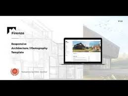 firenze responsive architecture architect template