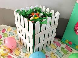 diy easter basket diy picket fence easter basket easy easter gift basket craft