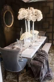 romantic table settings romantic table setting 2 with huge white flowers founterior
