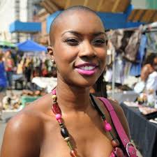 balding black women natural hair syyle my girl derica there is nothing more beautiful than confidence