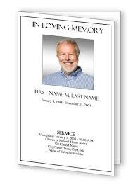 program for funeral funeral program templates funeral programs plain funeral template