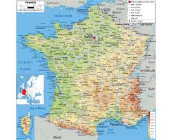 Marseilles France Map by Maps Of France Detailed Map Of France In English Tourist Map