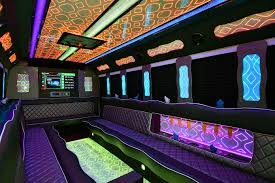 party bus prom denver limo service sunset limo 20 24 passenger sunset party bus