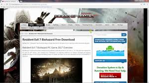 how to download resident evil 7 biohazard free latest pc game