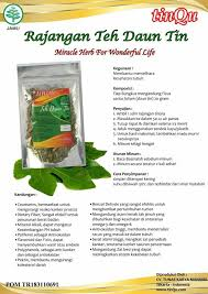 Teh Tinqu jual diet tanpa olahraga teh tubruk herbal halal aman busui daun