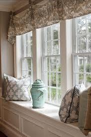 Big Window Curtains Decorating Windows With Curtains Interior Design