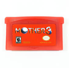 mother 3 gba earthbound 2 english red cartridge fan