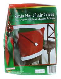 santa hat chair covers christmas santa claus hat festive chair cover