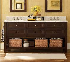 Beautiful Bathroom Console Sink With Metal Legs And Other - Bathrooms with double sinks