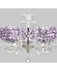 White Chandelier With Shades Great Deals On Jubilee Collection 7642 2423 5 Light White Wistful