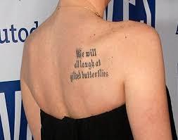 shoulder blade tattoos design shoulder blade tattoos