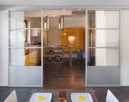 separation de cuisine en verre séparation de pièces sesame smart h vitre et verre laqué
