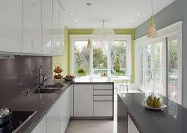 grey and white kitchen ideas modern white and grey kitchen design with green accent1 jpg 600