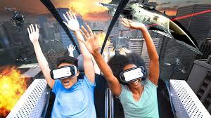 Batman Ride Six Flags Over Georgia Flags Over Georgia Has A New Virtual Reality Roller Coaster