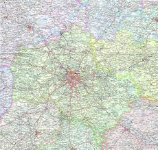 Russia Map Image Large Russia by Large Detailed Map Of Moscow Region In Russian Moscow Russia