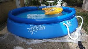 Intex 12x30 Pool Filling