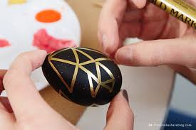 wooden easter eggs diy painted easter egg ideas from hallmark artists think