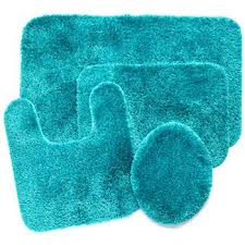 Teal Bath Rugs Inspirational Teal Bathroom Rugs For 27 Black And Teal Bathroom
