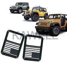 Jeep Jk Tail Light Covers Kawell 2 Pcs Rear Tail Lamp Tail Light Cover Trim Guards Protector