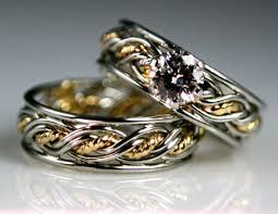 unique wedding ring sets unique custom designed wedding rings infobarrel images