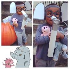 Halloween Costumes Elephant U0027s Gerald Elephant U0026 Piggie Super Easy Diy Costume