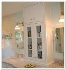 Bathroom Countertop Storage Bathroom Storage Tower Foter