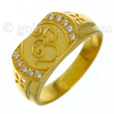 gold rings for men 22 k goldpalace