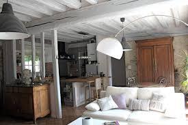 cuisine maison ancienne interieur maison ancienne renovee 2 d233co cuisine avec poutres