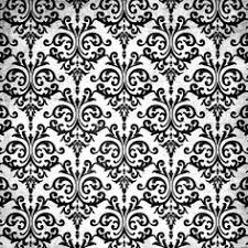 huge sheet damask tight weave floral black and white free