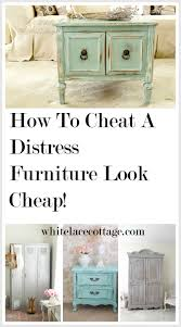 how to make cabinets look distressed how to a distress furniture look cheap p
