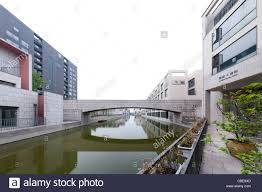 italian architect buildings and a bridge in pujiang a residential area designed by