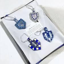 hanukkah gift mosaic dreidel ornament gift