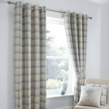 black curtain blackout lining dunelm best duck egg highland check lined eyelet curtains keto