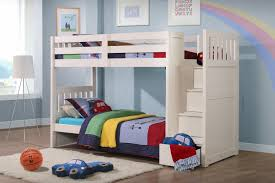 neutron children u0027s bunk bed with stair storage