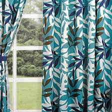buy olive vintage printed curtains eyelet curtains online swayam