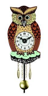 German Clocks Wall Clock For Children Owl 1 German Cuckoo Clocks